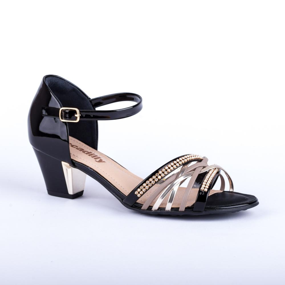 Černá letní pásková obuv Piccadilly 7100003