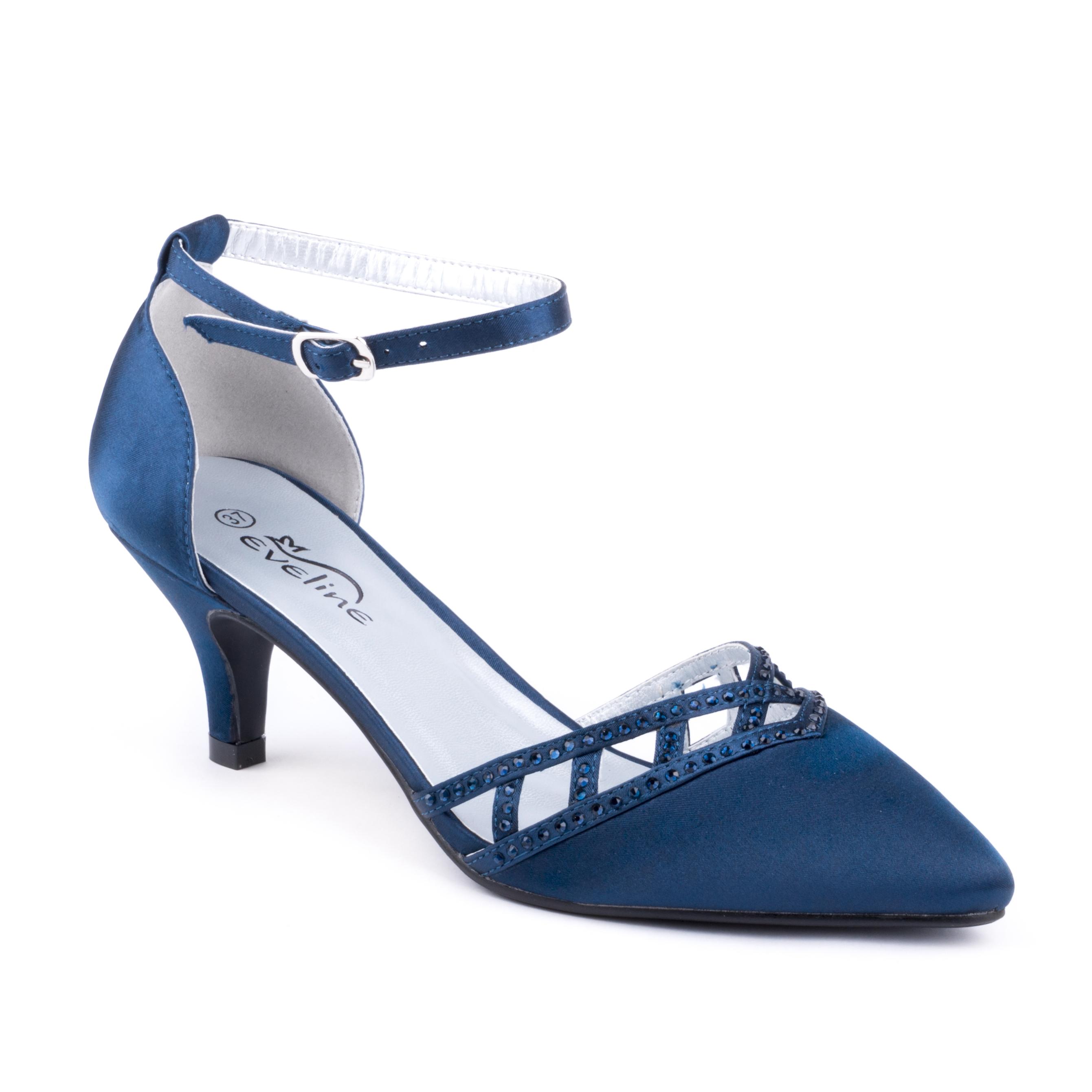 Modrá společenská bota V+J 7100248