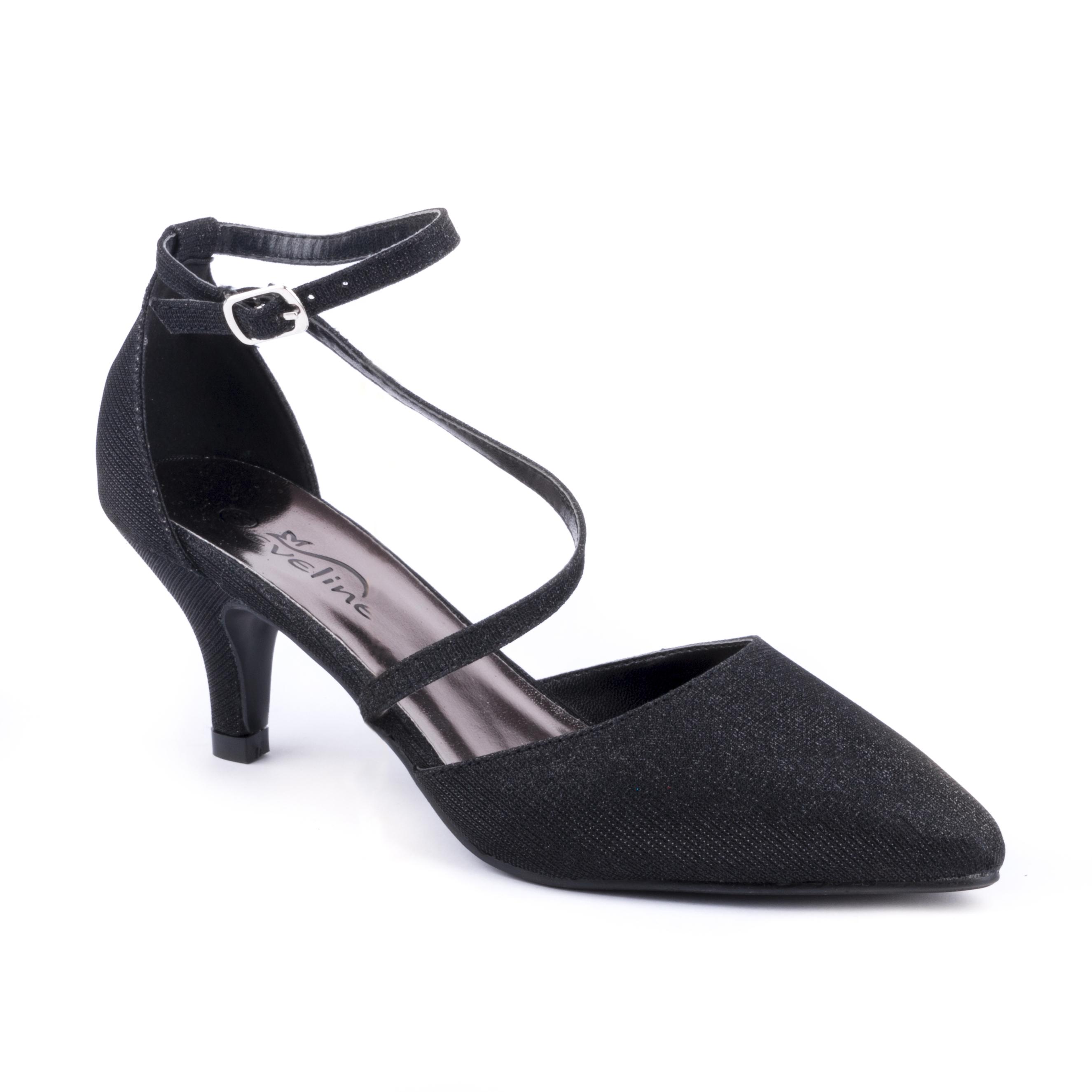 Černá společenská bota V+J 7100257